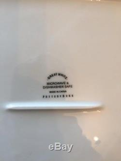 Pottery Barn dinnerware BRAND NEW Received as wedding gift 48 PIECE/ SET OF 12