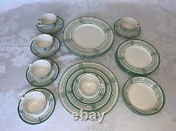 Ralph Lauren China Handkerchief Dinnerware (28 Pcs) Made in England