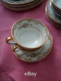 Rare Noritake M China Dinnerware Set 28 Pieces. Absolutely Beautiful