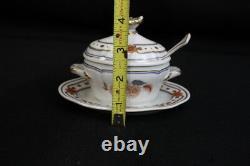 Rare Set 9 Pc. Vintage TAORMINA by Richard Ginori Side Service Dinnerware Gilt