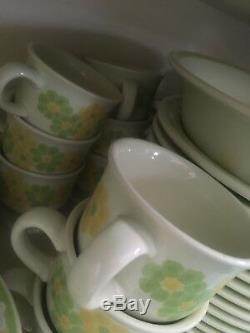 Retro Mid Century- Franciscan dinnerware- Picnic pattern