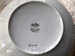 Rosenthal Germany-Studio-line Wirkkala-1960s-White Dinnerware Set 12 Places-89 P