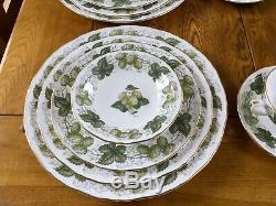 Royal Worcester Dinner Service For Eight Mathon Worcester Hops Dinnerware