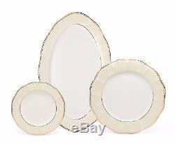 Royalty Porcelain Pamela 57-pc Banquet Dinnerware Set for 8, Bone China
