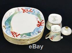 Salvador DALI Schirnding Bavarian China Dinnerware RARE Collector's item