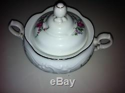 Service for 8 ROYAL KENT (Poland) RKT23 Fine China Dinnerware 47 PIECES