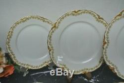 Service for One 8 Pieces Haviland Limoges Schleiger 98 Clover Leaf Dinnerware