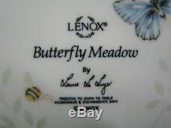 Set of 16 Pc. LENOX Butterfly Meadow Louise Luyer Dinnerware Service for 4 MINT