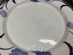Set of 30 Pcs. Dansk Tivoli BELLES FLEURS Blue/White Floral Dinnerware Japan