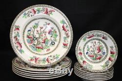 Set of 39 Pc. Johnson Bros. INDIAN TREE Dinnerware Set Service for 6 MINT