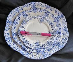Shelley Dainty Blue 5 pc Place Setting STORE CLOSING 12 % OFF HURRY