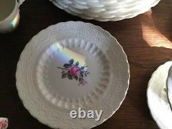 Spode copeland billingsley rose dinnerware 47 pieces very good condition