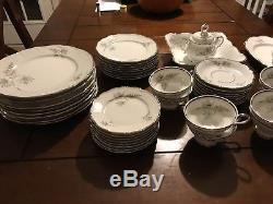 TOWNE FINE CHINA COTILLION 22127 BAVARIA GERMANY 45 piece Collection