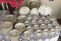 Theodore Haviland New York -ROSALINDE- Large Dinnerware Set 92 Pieces