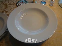 Tognana Italy OLIVIA WHITE BOWL Pasta/Individual Smooth Rimmed Porcelain