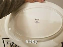 VERA WANG WEDGEWOOD BLANC SUR BLANC Dinnerware. Service for 12. 66 pieces
