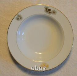 VINTAGE FUKAGAWA ARITA JAPAN PINE CONE 904 DINNERWARE SET 82 pieces