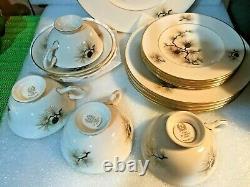VINTAGE LENOX PINE DINNERWARE SET 20 pieces(4 place settings) MINT #2