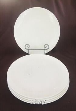 VINTAGE Wedgwood Bone China Dinnerware ALPINE WHITE 20-Piece Set ENGLAND