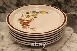 VINTAGE Woodhaven Collection 47-Piece Stoneware Dinnerware Set SUNNY BROOK