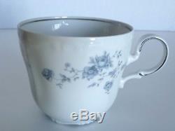 VTG Bavaria Blue Garland Porcelain Dish set Johann Haviland West Germany 1960's