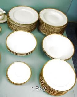VTG RARE Seltmann Weiden Bavaria W. Germany Melina Pattern Gold Trim 67 Pieces