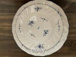Villeroy & Boch Vieux Luxembourg Porcelain Dinnerware/Brunch Set of 4