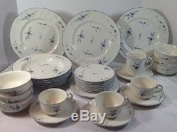 Villeroy & Boch Vieux Luxembourg Soup Cereal Bowls Cups Luncheon Dinner Plates