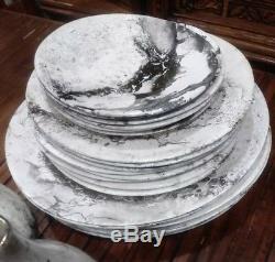 Vintage 46 pc Nessa Gaulois Dinnerware by Sascha Brastoff Mid Century RARE
