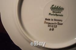 Vintage Edelstein Franconia Rose Fine China Dinnerware Set 89 Pieces Very Nice