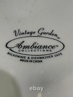Vintage Garde Ambiance Collection Dinnerware Set-Setting for 12- SALE SALE