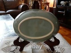 Vintage Lenox Kingsley X-445 Porcelain 2pc. Dinnerware Set16 Platter & 9 Bowl