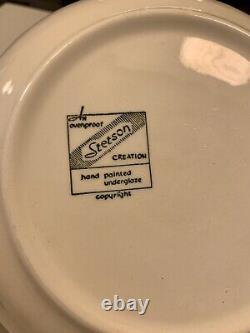 Vintage MCM 1957 Stetson China Tiara Pattern Dinnerware Set
