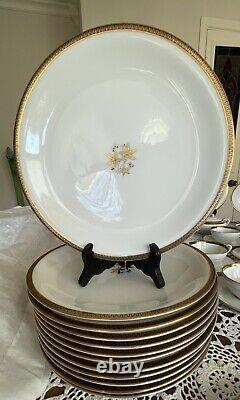 Vintage Noritake-Goldston 5595 -Beautiful Dinnerware- 12 Place Setting- 82 Pc