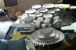 Vintage PMS Bavaria Fine China Dinnerware Set 54 Pcs. Elegant