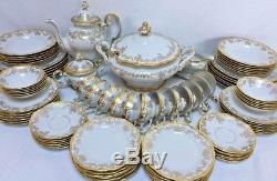 Vintage Weimar Katharina 14051 88-Piece Dinnerware Set for 12 with Serving Pieces