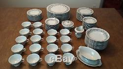 Vtg 93 Piece Florentine Fine China Dinnerware Set By Sango Japan Serving For 12