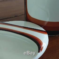Vtg Eschenbach Bavaria 28 Piece Dinnerware Set 1970s Retro Modern Minimalist