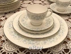WEDGWOOD- Bone China- WYNDHAM R4630 DINNERWARE SET For 8 47 Pieces