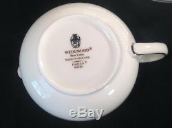 Wedgwood CARLYN 44 Pc DINNERWARE SET w Platter Veg Bowl Creamer Sugar