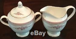 Wedgwood ROSALIE Bone China England 41-Piece Dinnerware Set Service for 6 MINT