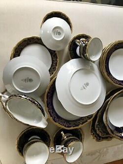 Weimar Katharina 20003 Cobalt Dinner Set for 6-40 pieces