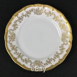 Weimar Katharina German 14051 White Gold 16-Piece Dinnerware Set for FOUR (4)