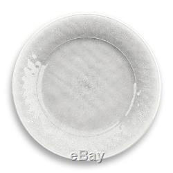White Potters Reactive Glaze Melamine 12 Piece Dinnerware Set by TarHong