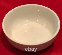 Williams-Sonoma PANTRY ESSENTIALS White Porcelain 24-Piece Dinnerware Set EUC